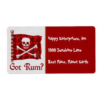 Got Rum? Label