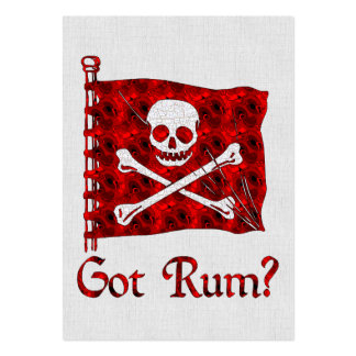 Got Rum? Large Business Card