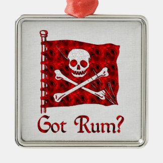 Got Rum? Metal Ornament