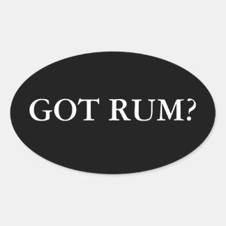 Got Rum? Oval Sticker