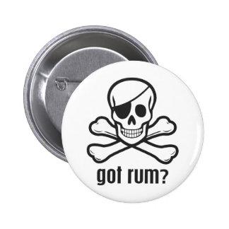 Got Rum? Pinback Button