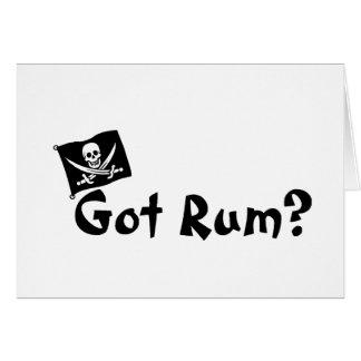Got Rum (Pirate Flag) Greeting Card