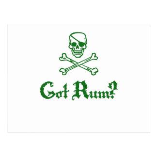Got Rum Postcard
