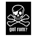 Got Rum? Postcards
