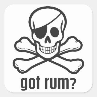 Got Rum? Square Sticker