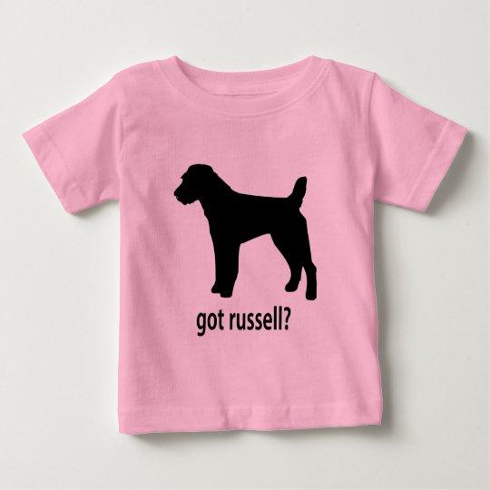 Got Russell Terrier Baby T-Shirt