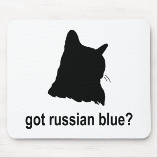 Got Russian Blue? Mouse Pad
