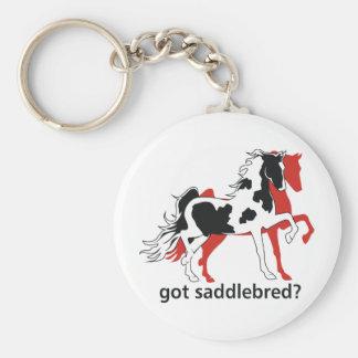 Got Saddlebred? Basic Round Button Keychain