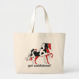 Got Saddlebred? Large Tote Bag