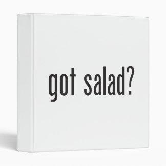 got salad vinyl binders