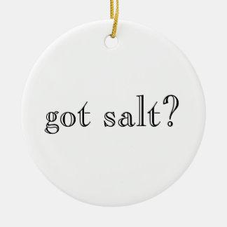 got salt?/got lime? ornament