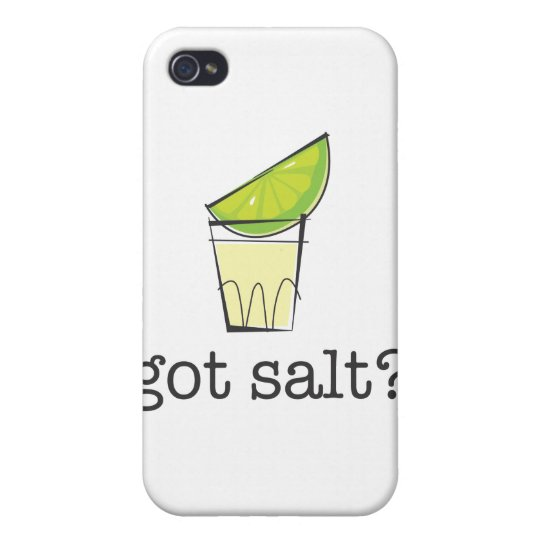 Got Salt? Tequila Shot with Lime iPhone 4/4S Case