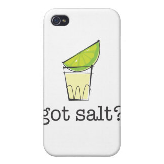 Got Salt? Tequila Shot with Lime iPhone 4 Case