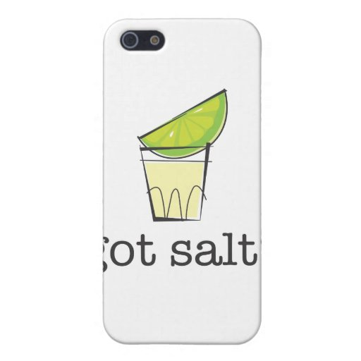 Got Salt? Tequila Shot with Lime iPhone 5 Cover