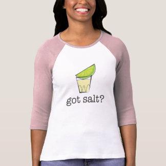 Got Salt? Tequila Shot with Lime Pink T-Shirt
