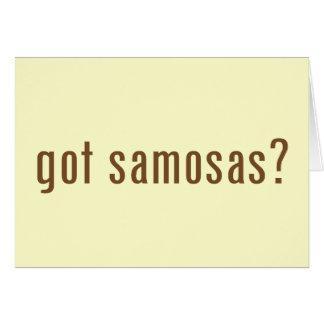 got samosas? card