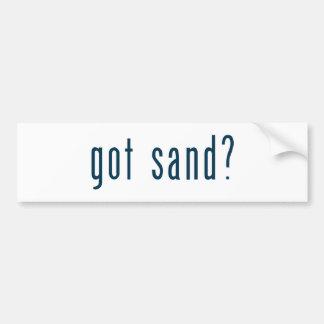 got sand bumper sticker