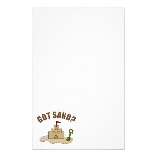 Got Sand? Stationery