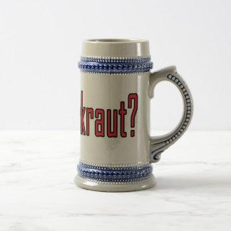 got sauerkraut? coffee mugs