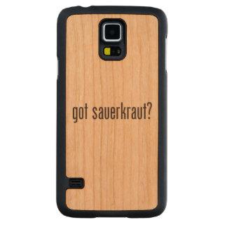 got sauerkraut carved® cherry galaxy s5 slim case
