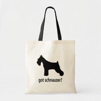 Got Schnauzer Canvas Bags