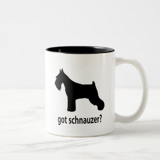 Got Schnauzer Two-Tone Coffee Mug