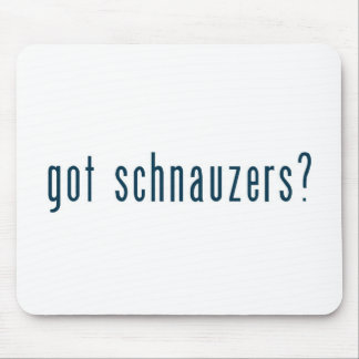 got schnauzers mousepad