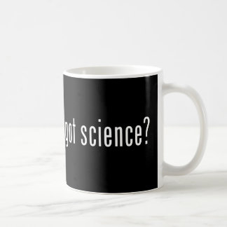 got science? coffee mug