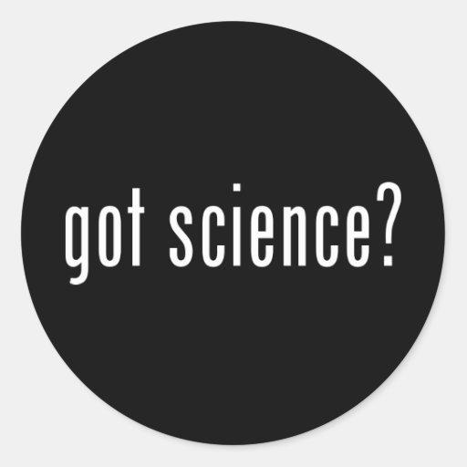 got science? stickers