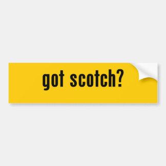 got scotch? bumper stickers