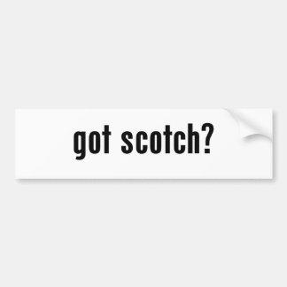 got scotch? bumper sticker