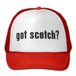 got scotch? trucker hat