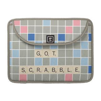 Got Scrabble MacBook Pro Sleeve