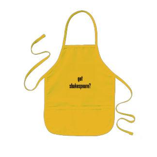 got shakespeare? kids' apron