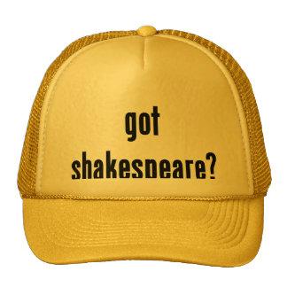 got shakespeare? trucker hat