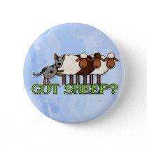 got sheep pinback button