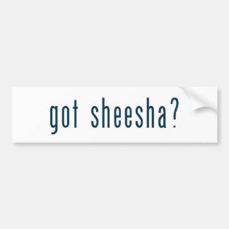 got sheesha bumper stickers