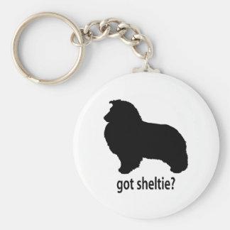 Got Sheltie Basic Round Button Keychain