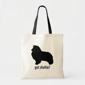 Got Sheltie Tote Bags