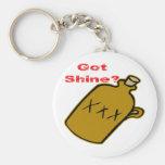 Got Shine? Basic Round Button Keychain