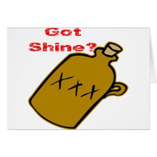Got Shine? Card