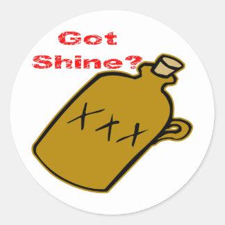 Got Shine? Classic Round Sticker