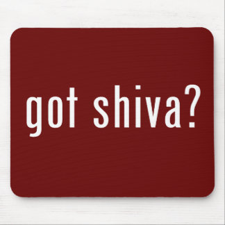got shiva? mouse pad