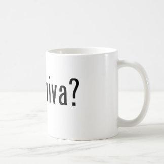 got shiva? classic white coffee mug