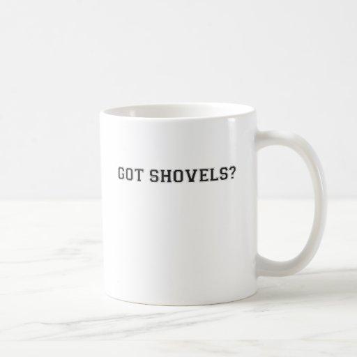 Got Shovels? Sporty Text Mugs