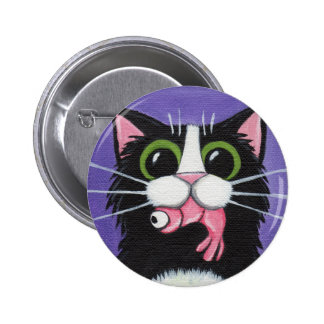 Got Shrimp!! Cat Button