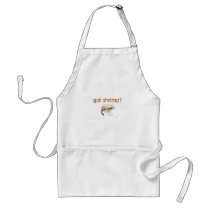 Got Shrimp Logo Adult Apron