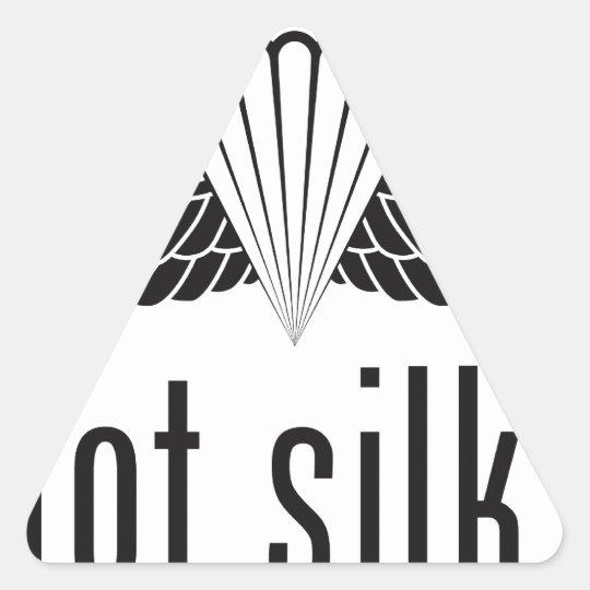 got silk - black triangle sticker