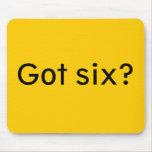 Got six? mouse pads