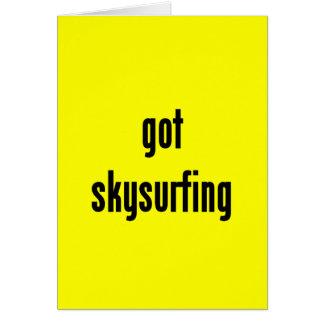 got skysurfing? card